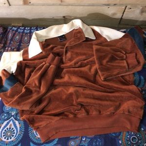 Vintage Shirts - Vintage 70-80s long sleeve pullover. Size XL